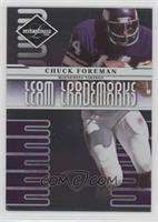 Chuck Foreman [Noted] #/999