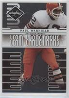 Paul Warfield /999