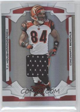 2008 Leaf Rookies & Stars Longevity - [Base] - Ruby Materials [Memorabilia] #21 - T.J. Houshmandzadeh /350