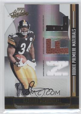 2008 Playoff Absolute Memorabilia - [Base] #267 - Rashard Mendenhall /299