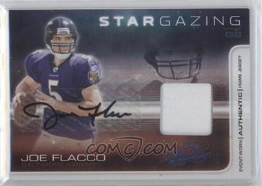 2008 Playoff Absolute Memorabilia - Star Gazing - Materials Prime Signatures [Autographed] [Memorabilia] #SG25 - Joe Flacco /25