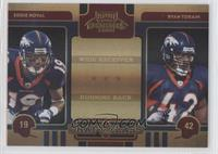 Eddie Royal, Ryan Torain /50