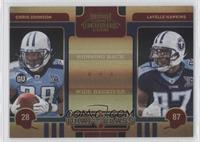 Chris Johnson, Lavelle Hawkins /50