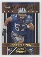 Jordon Dizon /25