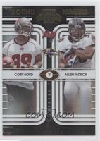 Allen Patrick, Cory Boyd /50