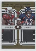 Ryan Torain, Tim Hightower /100