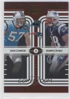 2008 Playoff Contenders - Round Numbers #18 - Shawn Crable, Dan Connor /500