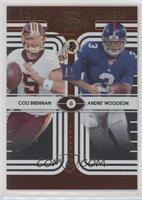 Colt Brennan, Andre' Woodson #/500