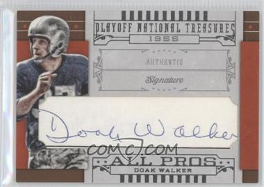2008 Playoff National Treasures - All Pros Cut Signatures #15 - Doak Walker /29