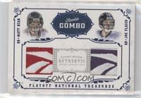 Matt Ryan, Joe Flacco /4