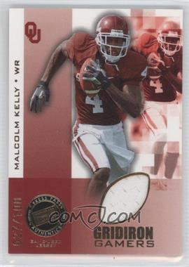 2008 Press Pass - Gridiron Gamers - Gold #GG-MK - Malcolm Kelly /100