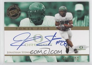 2008 Press Pass - Power Pick Autographs #PP-JS - Jonathan Stewart /250