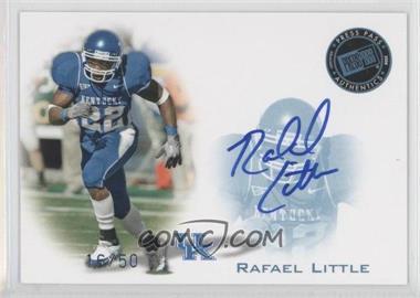 2008 Press Pass - Signings - Blue #PPS-RL - Rafael Little /50