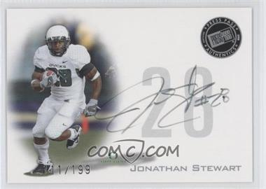 2008 Press Pass - Signings - Silver #PPS-JS - Jonathan Stewart /199