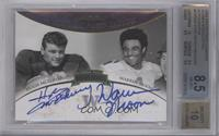 Hugh McElhenny, Warren Moon /50 [BGS 8.5]