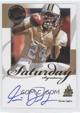 2008 Press Pass Legends - Saturday Signatures #SS-KS - Kevin Smith