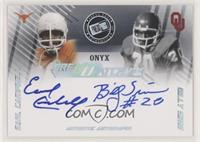 Earl Campbell, Billy Sims #/10