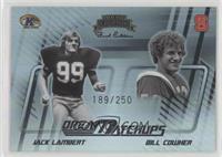 Jack Lambert, Bill Cowher #/250