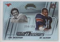 Eric Dickerson, Bo Jackson /250