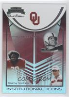 Tommy McDonald, Barry Switzer, Billy Sims /250