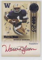 Warren Moon (red ink) #/25