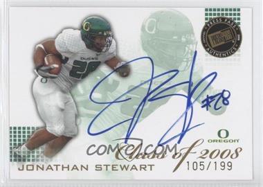 2008 Press Pass SE - Class of 2008 - Autographs Blue Ink [Autographed] #CL-JS - Jonathan Stewart /199