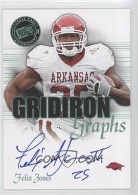 2008 Press Pass SE - Gridiron Graphs - Green #GG-FJ - Felix Jones /25