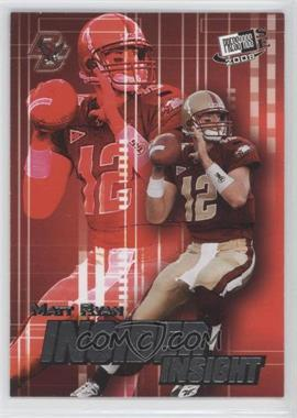 2008 Press Pass SE - Insider Insight #II-27 - Matt Ryan