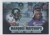 Matt Forte, Chris Johnson