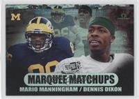 Dennis Dixon, Mario Manningham