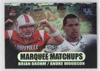Brian Brohm, Andre' Woodson