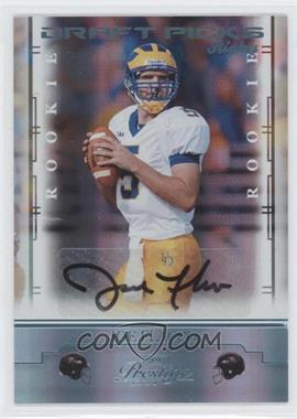 2008 Prestige - [Base] - Draft Pick Rights Autographs [Autographed] #151 - Joe Flacco /250