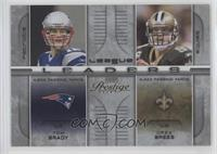 Brett Favre, Drew Brees, Tom Brady, Tony Romo /100