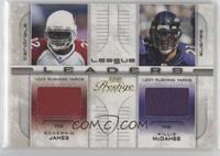 Edgerrin James, Willis McGahee #/250