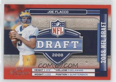 2008 Prestige - NFL Draft #NFL-35 - Joe Flacco