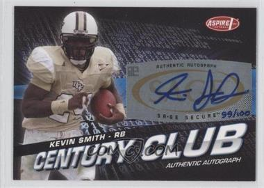 2008 SAGE Aspire - Century Club - Autographs [Autographed] #ACC-15 - Kevin Smith /100
