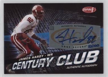 2008 SAGE Aspire - Century Club - Autographs [Autographed] #ACC-24 - James Hardy /100