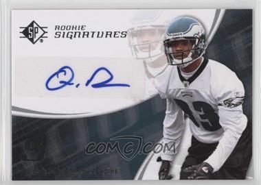 2008 SP Authentic - [Base] - Retail #157 - Quintin Demps
