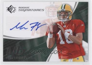 2008 SP Authentic - [Base] - Retail #159 - Matt Flynn