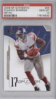 Plaxico Burress [PSA 10 GEM MT]