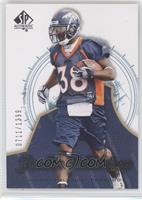 Rookie Authentics - Anthony Alridge /1399
