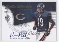 Rookie Authentics Signatures - Marcus Monk #/1,199