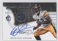 Rookie Authentics Signatures - Bruce Davis #/1,199