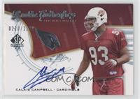 Rookie Authentics Signatures - Calais Campbell /1199