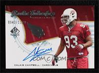Rookie Authentics Signatures - Calais Campbell #/1,199