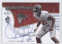 Rookie Authentics Signatures - Chevis Jackson #/1,199