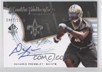 Rookie Authentics Signatures - DeMario Pressley /1199