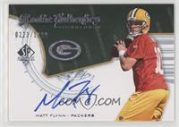 Rookie Authentics Signatures - Matt Flynn #/1,199