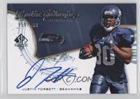 Rookie Authentics Signatures - Justin Forsett /999