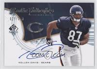 Rookie Authentics Signatures - Kellen Davis /399